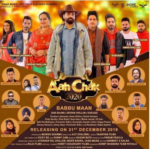 Aah Chak 2020 By Babbu Maan, Gurjazz and others... full mp3 album