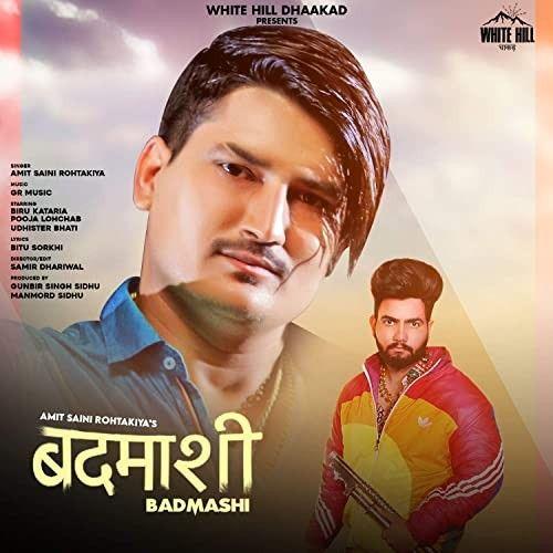 Badmashi Amit Saini Rohtakiyaa mp3 song download, Badmashi Amit Saini Rohtakiyaa full album mp3 song